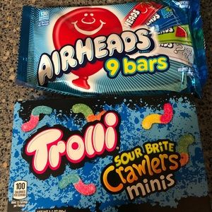 Never used or opened candy.